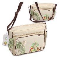 Disney Winnie the Pooh Postcard Large Diaper Bag by Disney