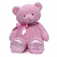 Gund My First Teddy Bear Stuffed Animal 18 inches Color: Pink Model: 4043979 [並行輸入品]