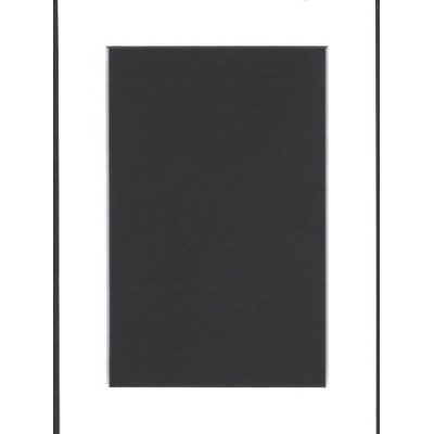 50 5x7 White Picture Mats Mattes Matting with White Core, for 4x6 Pictures