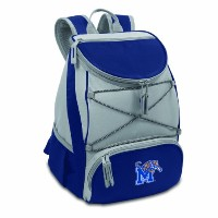 NCAA Memphis Tigers PTX InsulatedバックパックCooler、ネイビー、Regular