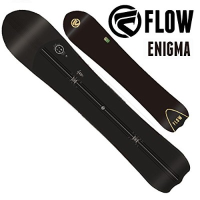 17-18 FLOW/フロー ENIGMA エニグマ パウダー メンズ 板 スノーボード 2018 153