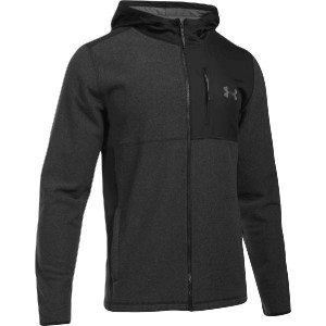 (取寄)アンダーアーマー メンズ CGI フルジップ パーカー Under Armour Men's CGI Full-Zip Hoodie Black/Black/Graphite