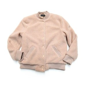 STYLE NAME:JAMIE BOMBER JACKET COL:DUSTY BLUSH【THE FIFTH LABEL フィフスレーベル】【LADY'S レディース】【2017AW】...