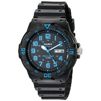 【カシオ】 Casio Unisex MRW200H-2BV Neo-Display Watch (並行輸入品)