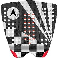 Astrodeck John John Florence 808 Black / White / Red Surfboard Traction Pad [...
