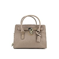 MICHAEL Michael Kors Hamilton East West Satchel in Dark Dune