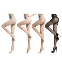 Zhhlinyuan ファッションレディース 5D Ultra Colored Leggings Stockings Silk Pantyhose Thin Transparent Plus...