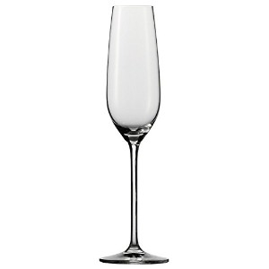 Schott Zwiesel Stemware Fortissimo Collection Champagne Flute Tritan Crystal Glass with Effervescenc...