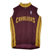 NBA Cleveland Cavaliers Men 'sノースリーブAway Cycling Jersey 3L