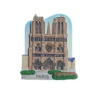Notre Dame Cathedral Church Paris France Europe TOY Fridge Magnet by CooL Price Magnet