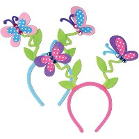 Butterfly Boppers (asstd colors) Party Accessory (1 count) (1/Pkg) [並行輸入品]