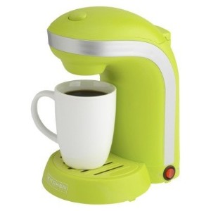 Kitchen Selectives 1-Cup Single Serve Drip Coffee Maker, Green [並行輸入品]