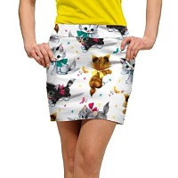 LoudMouth Ladies Cute Little Pussy Cats Skort【ゴルフ レディース>スコート】