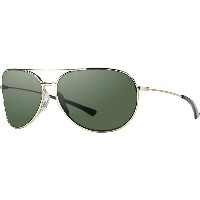 スミス メンズ メガネ・サングラス【Smith Rockford Slim Polarized Sunglasses】Gold / Polarized Grey Green