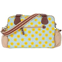 Pink Lining Not So Plain Jane Sunflowers Bag, Blue/Yellow by Pink Lining