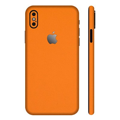 wraplus for iPhoneX [オレンジ] スキンシール 全面 (背面/側面) フィルム ケース
