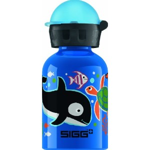SIGG Farmyard Sheep Water Bottle 水筒 300ml コバルトブルー