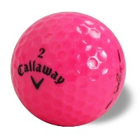 Callaway Hex SolaireピンクAAAA中古ゴルフボール