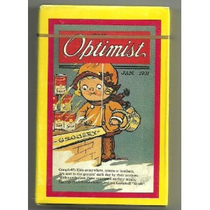 Campbell 's Kids Optimist Playing Cards