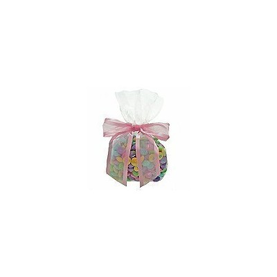 C1 Cellophane Bags - 3-1/2X 2X 7-1/2 Clear Bulk Gusset Style Cello Bags by Creative Gift Packaging