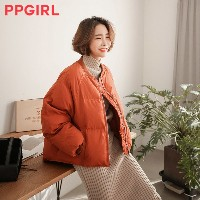 送料 0円★PPGIRL_A959 Sibory padding jumper / outer / casual jacket / zip up jumper / padding jacket
