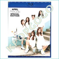 KPOP Bluray【韓流DVD】APRIL★Prelude SPECIAL EDITION★【TV・PV】☆【SPECIAL EDITION】bluray_april3