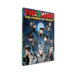 SMTown EXO THE WAR Repackage The Power Of Music Official Postcard Book