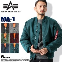 ALPHA INDUSTRIES アルファ インダストリーズ MA-1 MJM21000C1 FLIGHT JACKET