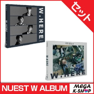 NUEST W - NEW ALBUM [NUEST W NEW ALBUM STILL LIFE VER. + PORTRAIT VER. SET]