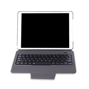 T1095 Ultra Thin Light Bluetooth Keyboard with Leather Cover Protective Case for iPad Pro 10.5
