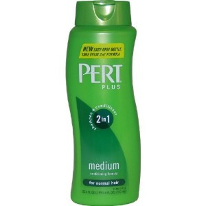 Pert Plus 2in1 Shampoo + Conditioner Medium for Normal Hair 25.4 Ounce Bottles (Pack of 4) (20...