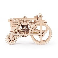 (UGEARS) Tractor Model. Mechanical 3d Puzzle