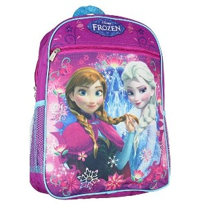 (ディズニー通園バッグ)Disney / Frozen Large 15 School Bag New Design