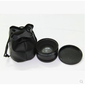 Canon 550D 500D 600d wide-angle lens 58MM 0.45X wide-angle lens with macro lens