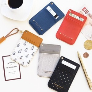 [ICONIC] ICONIC SWING NECK CARD POCKET