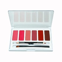 Laimeng 6 Colors Lip Gloss Palette Makeup Lipstick Palette Lipgloss Lips Lip Pigment-  polo