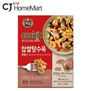 [5packs] CJ Beksul Sweet and Sour pork 340g / instant food kit / korean food / fast cooked