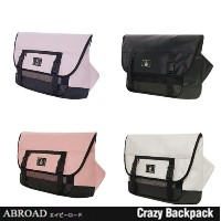 【ABROAD正規品】エービーロード Smart Messenger Bag (Purple Baby pink White Black)