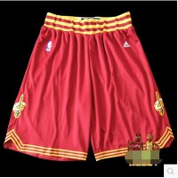 New fabrics Cavaliers NBA R30 Owen supporting basketball shorts pants big red-QY_TAKIER sport
