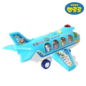 【人気のおもちゃポロロ] Pororo Jumbo Air Plane30 songs melody kids toy play[Free Shipping]