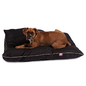 35x46 Black Super Value Pet Dog Bed By Majestic Pet Products Large by Majestic Pet