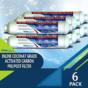t33インラインCoconut Grade Activated Carbon Pre / Post膜フィルタの味と臭気Reduction RA-6T33