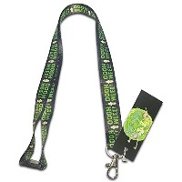 Rick and Morty–Mr。poopybutthole Lanyard