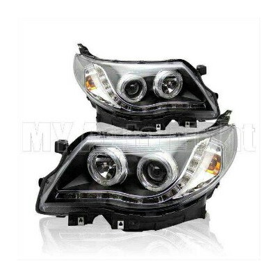 スバル フォレスター ヘッドライト HID Headlights For 2011-2014 Subaru Forester LED DRL Bi-xenon Projector Headlamp...