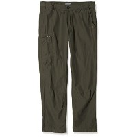 CRAGHOPPERS KIWI TREK MENS TROUSERS BARK (LEG S WAIST 30IN)
