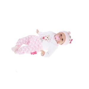 Silicone Reborn Baby Doll With Rooted Hair Clothes Diaper Newborn Baby Girl Doll Boneca 22inch 55cm