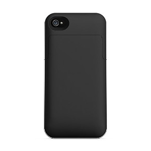 Mophie Juice Pack Air External Battery Case Made for iPhone 4/4s in Black - MFi Approved
