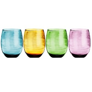 Napoli 14 oz. Stemless Glass (Set of 4) by Home Essentials & Beyond