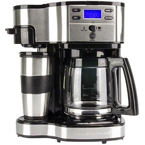 Hamilton Beach 49980 2Way Brewer 12-cups Coffee Maker kitchen bread toast makerハミルトンビーチ49980 2Way...