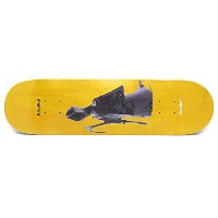 KROOKED DECK クルキッド デッキ BRAD CROMER STACHUES YELLOW STAIN 8.18
